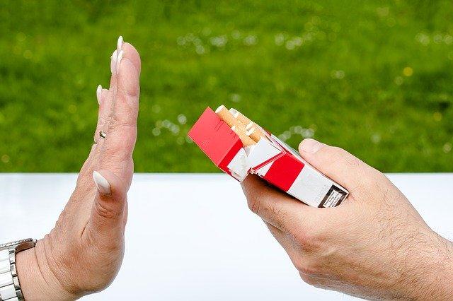 odmowa papierosa